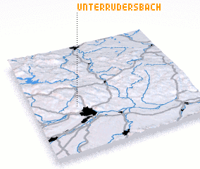 3d view of Unterrudersbach