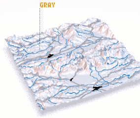 3d view of Gray