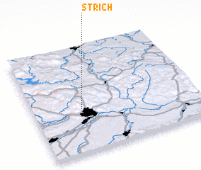 3d view of Strich