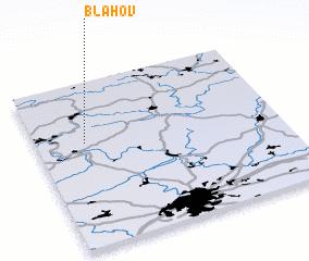 3d view of Bláhov