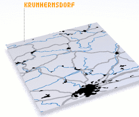 3d view of Krumhermsdorf