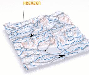 3d view of Kreuzen