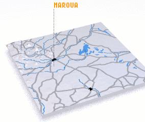 Maroua Cameroon map nonanet