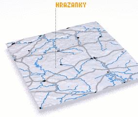 3d view of Hrazánky