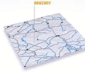 3d view of Hrazany