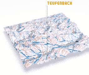 3d view of Teufenbach