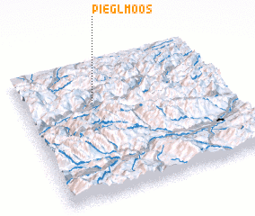 3d view of Pieglmoos