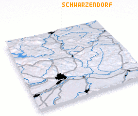 3d view of Schwarzendorf