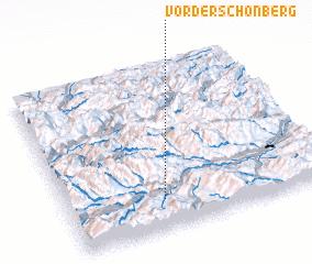 3d view of Vorderschönberg