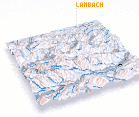 3d view of Lambach