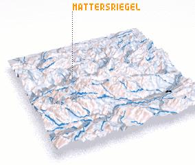 3d view of Mattersriegel