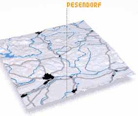 3d view of Pesendorf
