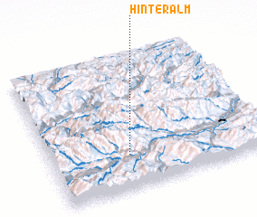 3d view of Hinteralm