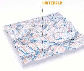 3d view of Hinteralm