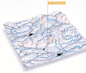 3d view of Rakovnik