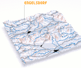 3d view of Engelsdorf