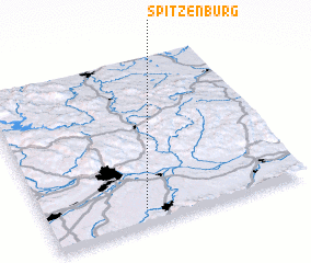 3d view of Spitzenburg