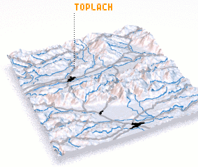 3d view of Töplach