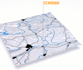 3d view of Schönau