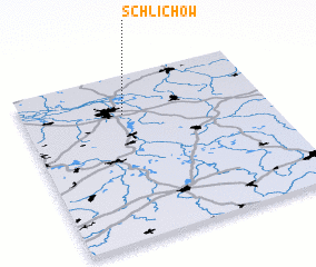 3d view of Schlichow