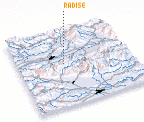 3d view of Radiše