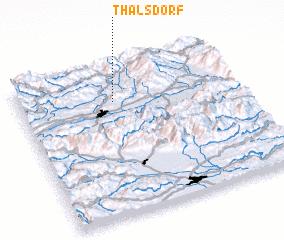 3d view of Thalsdorf