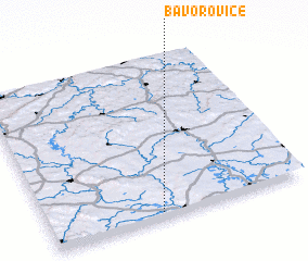 3d view of Bavorovice