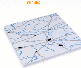 3d view of Chojna
