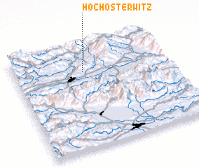 3d view of Hochosterwitz