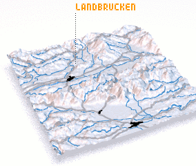 3d view of Landbrücken