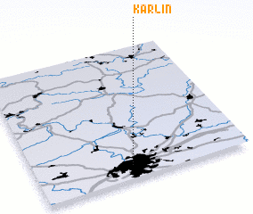 3d view of Karlín