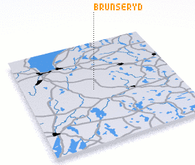 3d view of Brunseryd