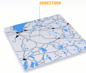 3d view of Ormestorp