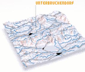 3d view of Unterbruckendorf