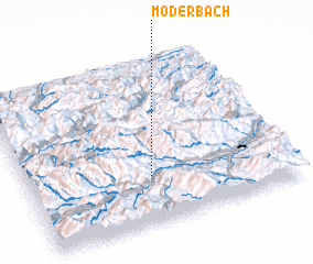 3d view of Möderbach