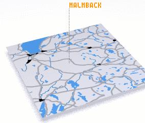 3d view of Malmbäck