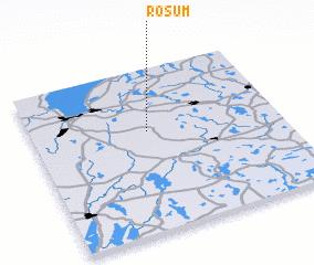 3d view of Rösum