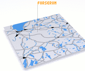 3d view of Forserum