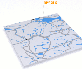 3d view of Orsala