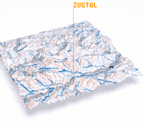 3d view of Zugtal