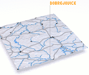 3d view of Dobřejovice