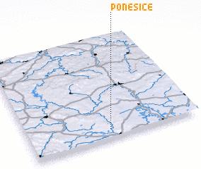 3d view of Poněšice