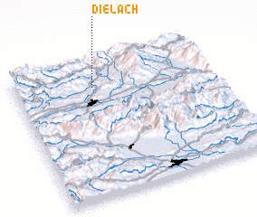 3d view of Dielach