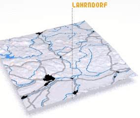 3d view of Lahrndorf