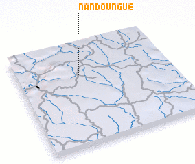 3d view of Nandoungué