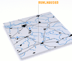 3d view of Mühlhäuser