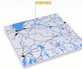 3d view of Korpebo