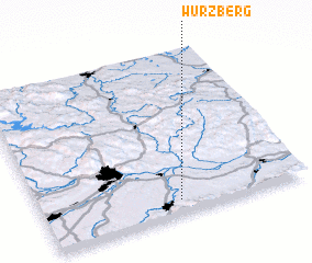 3d view of Würzberg