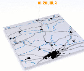 3d view of Okrouhlá