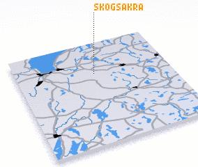 3d view of Skogsåkra